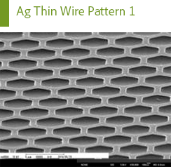 Ag Thin Wire Pattern 1