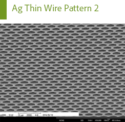 Ag Thin Wire Pattern 2