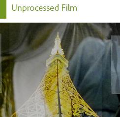 Unprocessed Film